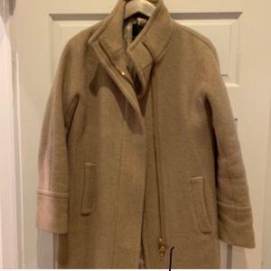 Gently worn j crew stadium coat